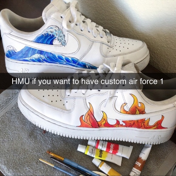 Customize your own Air Force one's NWT